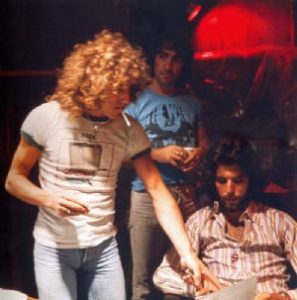 Ron with The Who 1973
